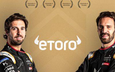 Tin độc Quyền: EToro Và Nhà Vô địch đua Xe Formula E Ký Kết Hợp đồng Tài Trợ Lên đến 1 Triệu Bảng Anh