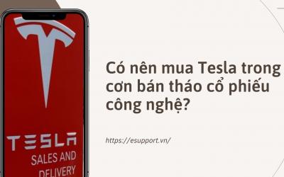 Có Nên Mua Tesla Trong Cơn Bán Tháo Cổ Phiếu Công Nghệ